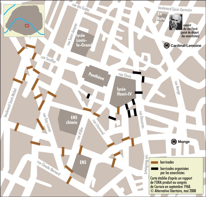 Latin Quartier Barricades